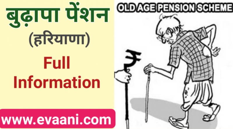 old age pension haryana